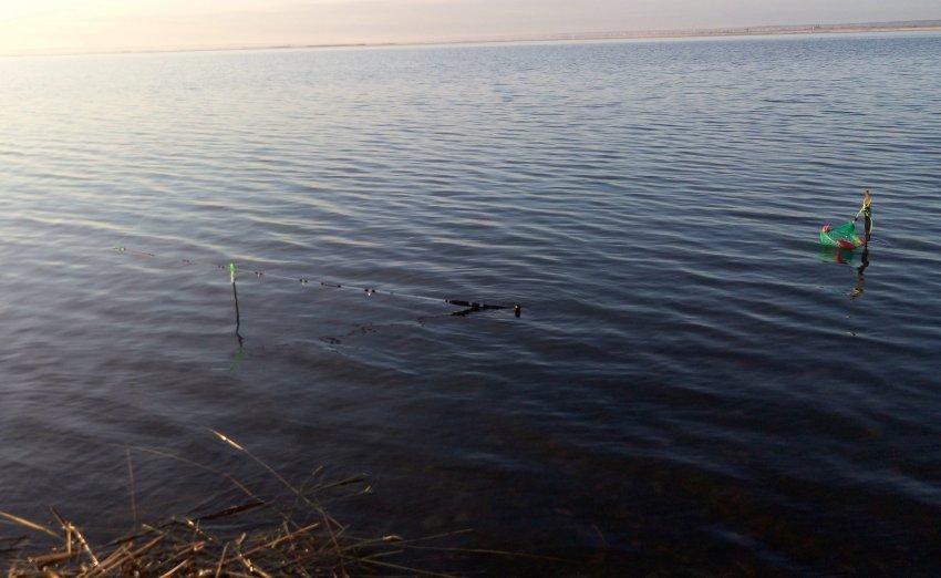 Рыбалка на озере Уелги
