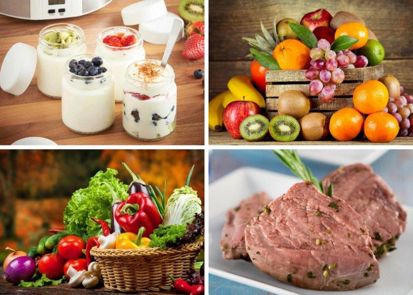 Продукты, которые можно есть во время диеты