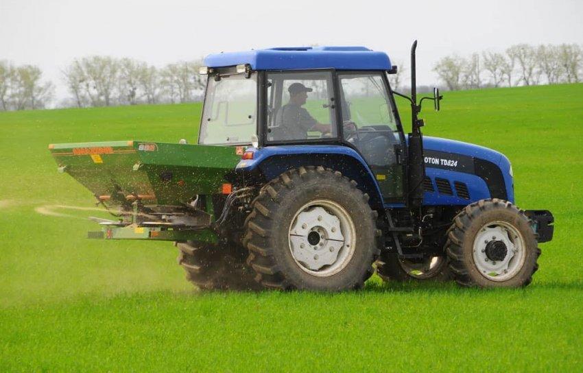 Внесение удобрений под пшеницу