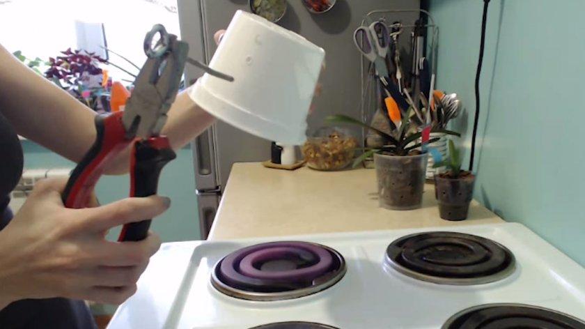 Изготовление горшка для орхидеи