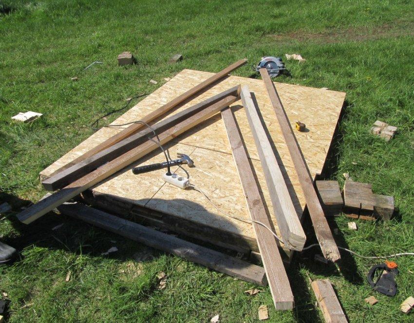 Материалы для постройки курятника