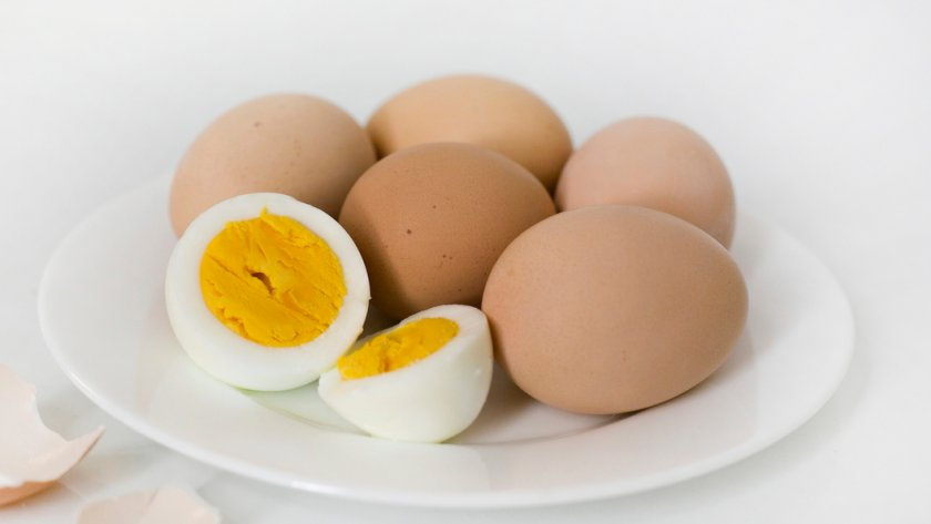 Отварное яйцо