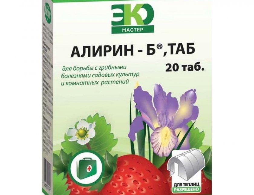 Фунгицид алирин-б