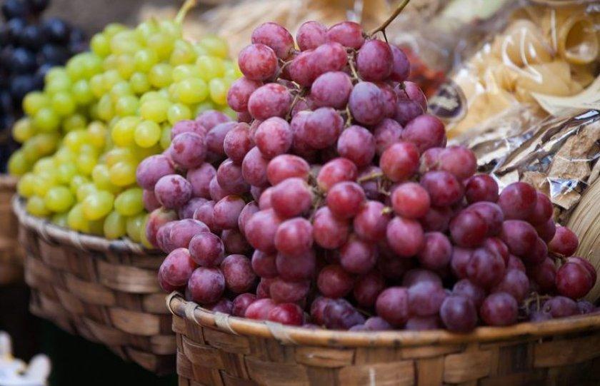Калорийность и энергетическая ценность винограда