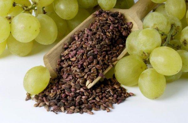 Кости от винограда можно есть