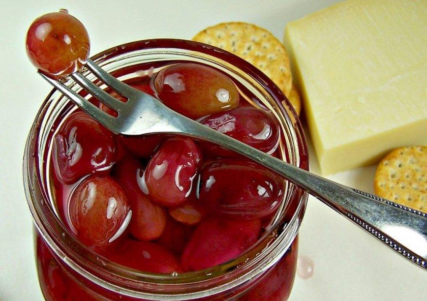 Маринованный виноград без стериллизации