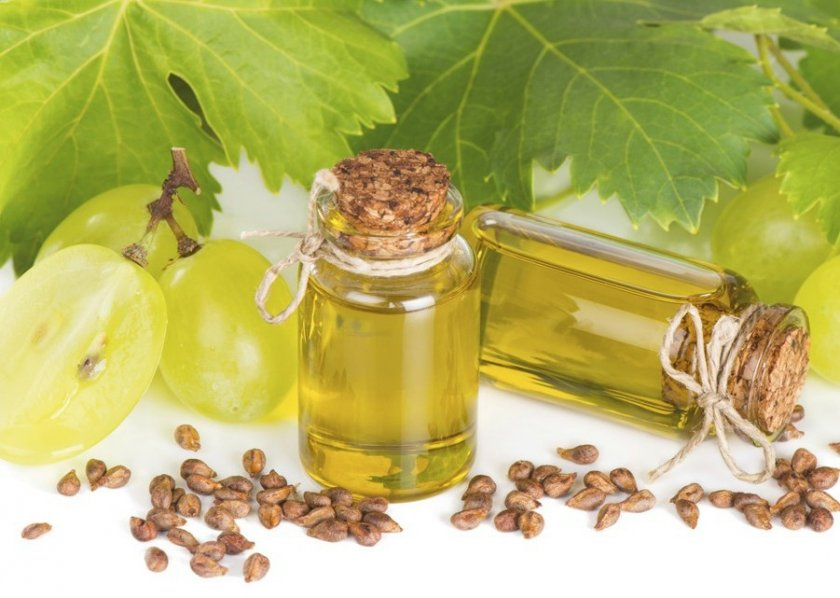 Польза виноградного масла
