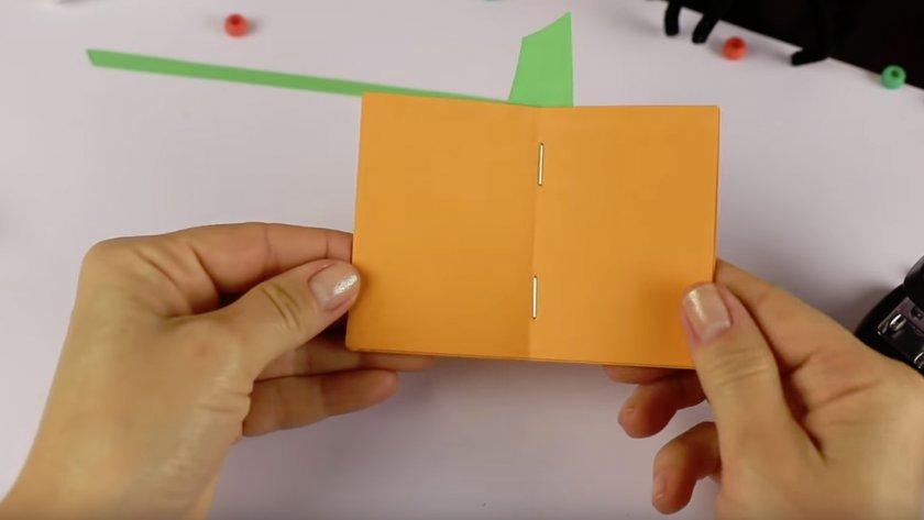 Тыква из бумаги