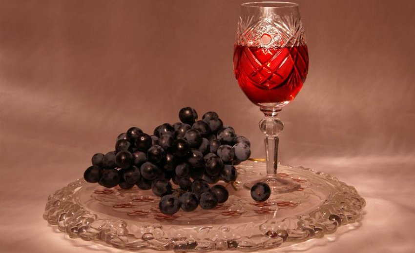 Настойка из винограда