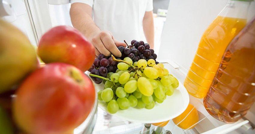 Хранение винограда в холодильнике