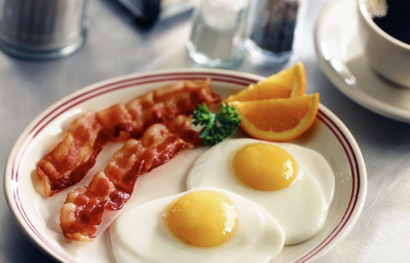 Жаренные яйца