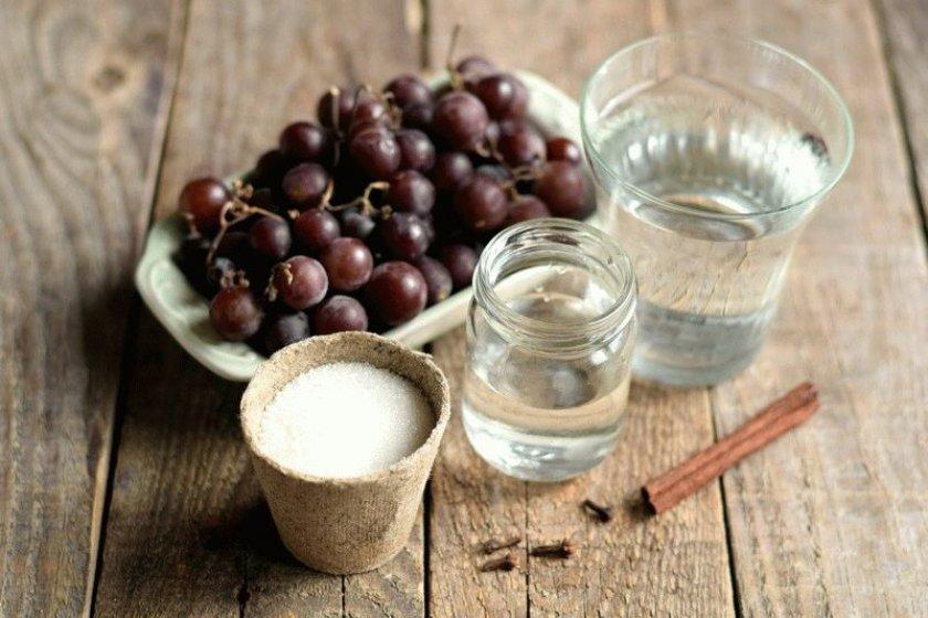 Рецепт маринованного винограда без стерилизации