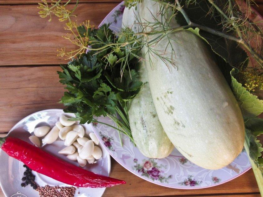 Рецепт маринованных кабачков на зиму без стерилизации