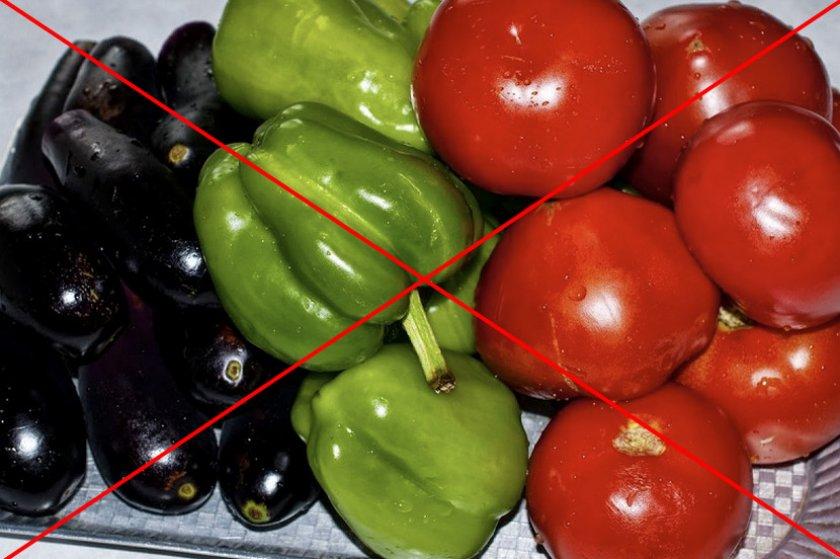 Нежелательные овощи для посадки после картофеля