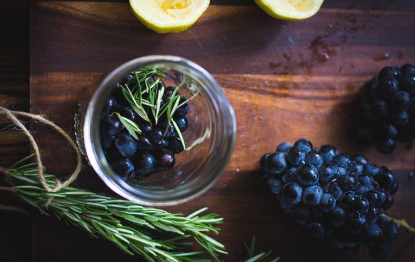 Виноград маринованный по-деревенски