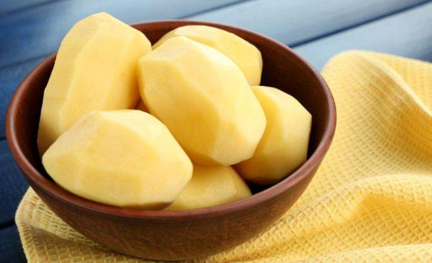 Хранение очищенного картофеля