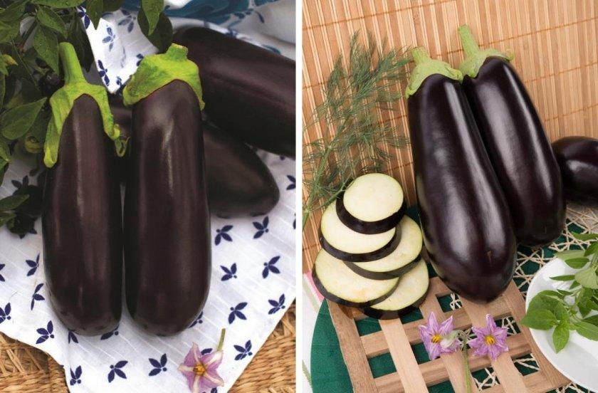 Сорт баклажана чёрный опал