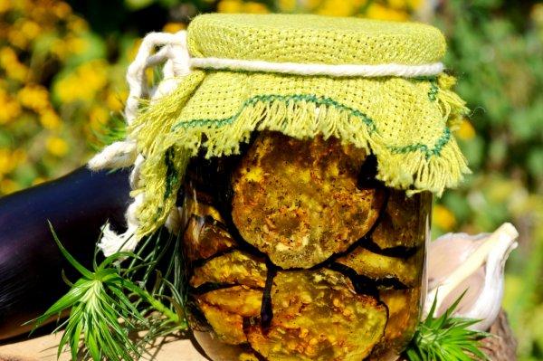 Вяленые овощи в масле