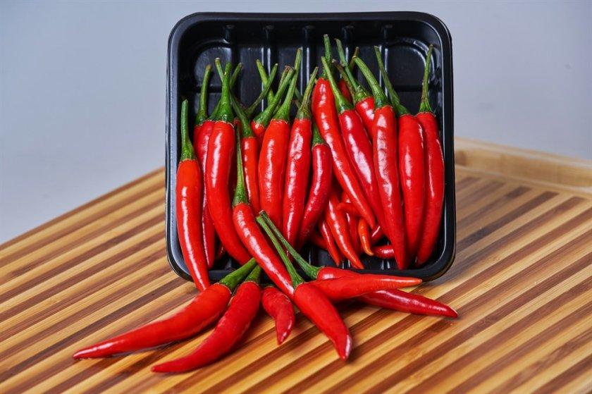 Калорийность и химический состав острого перца