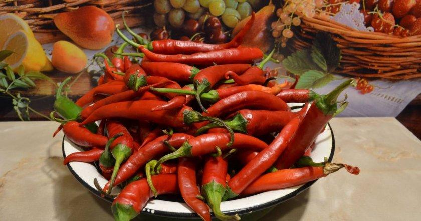 Рецепты консервированного горького перца
