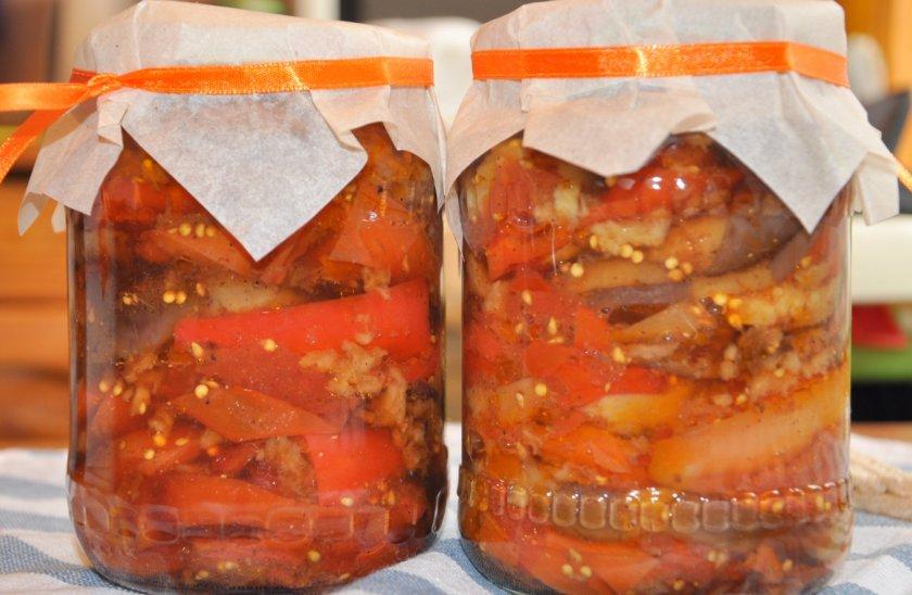 Консервация сладкого перца на зиму для фаршировки