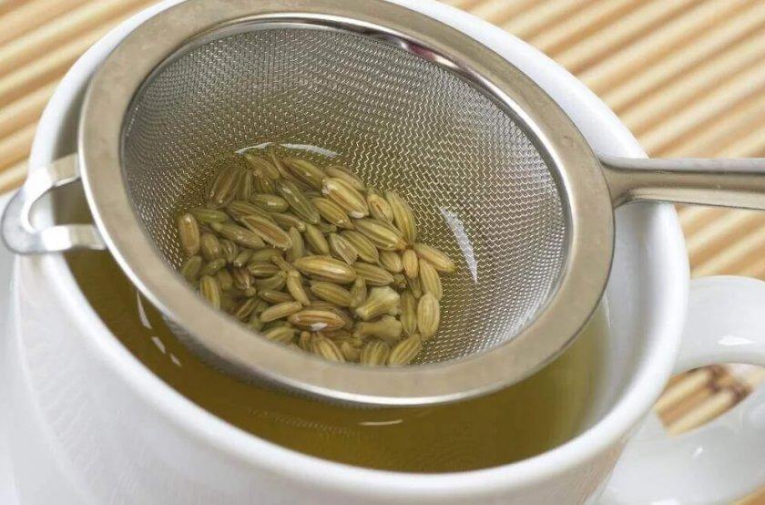 Напиток из семян укропа