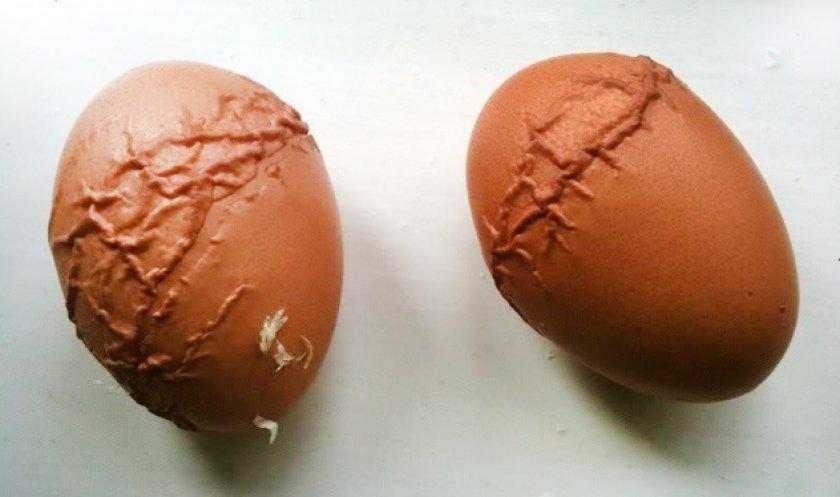 Деформированные яйца