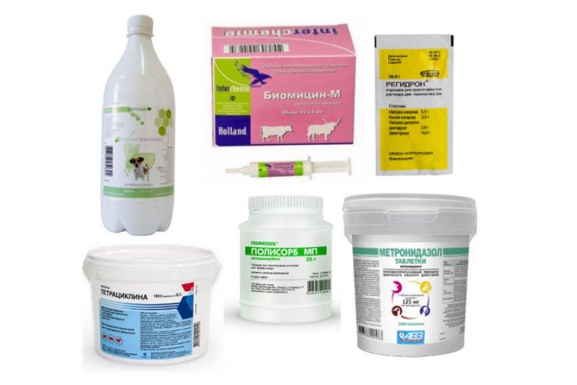 Ветеринарные лекарства