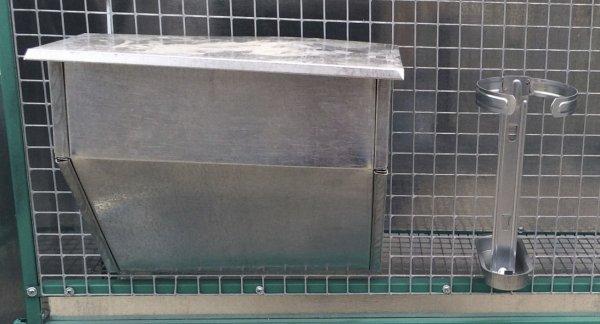 Бункерные кормушки для кроликов своими руками: чертежи с размерами, фото и видео