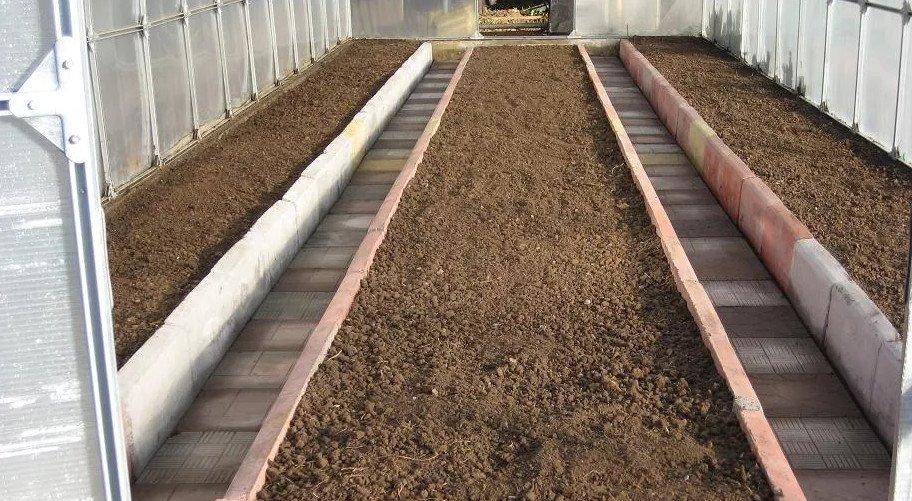 состав почвы для теплицы
