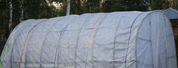 Укрывной материал для теплиц и парников