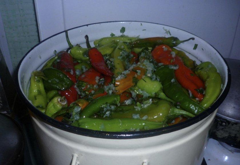 Маринованный горький стручковый перец на зиму рецепты с фото