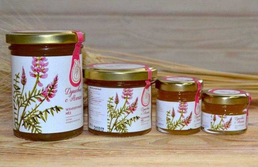 Хранение эспарцетового мёда