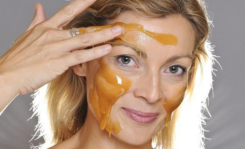 Мёд для лица