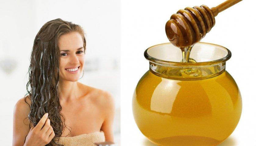 Гречишный мёд для волос