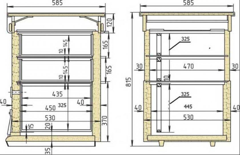 10-рамочная конструкция