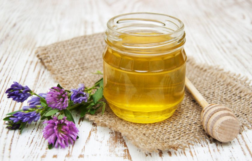Вкус и цвет клеверного мёда