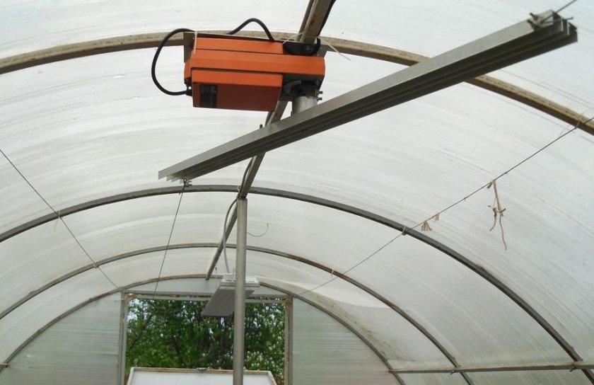 Электрический механизм для форточки