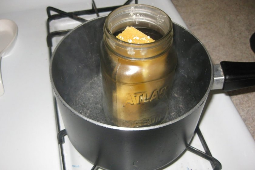 как растопить мед засахаренный в банке