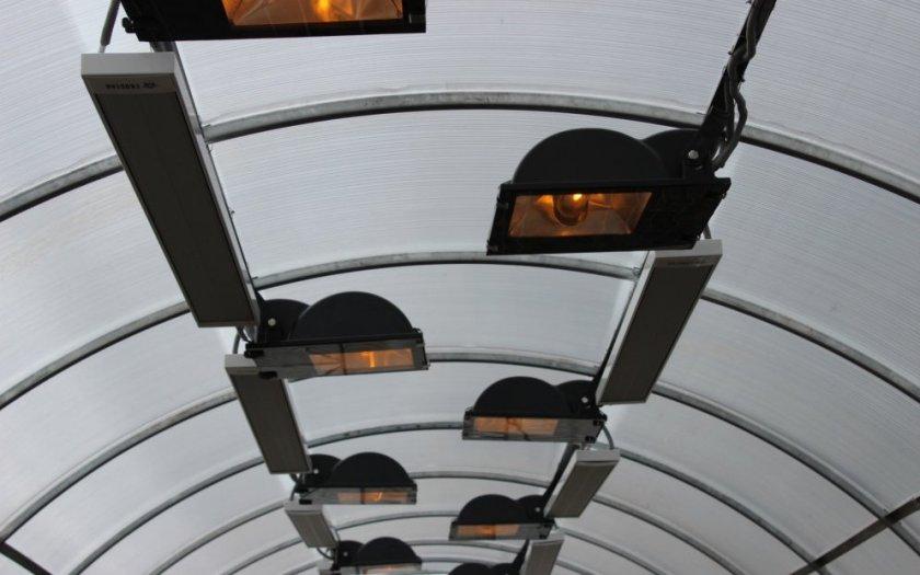 Инфракрасные обогреватели для теплицы