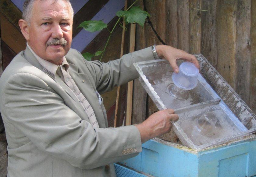 Входная кормушка для пчёл