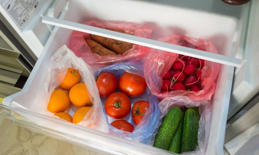 Хранение немытой моркови в пакете