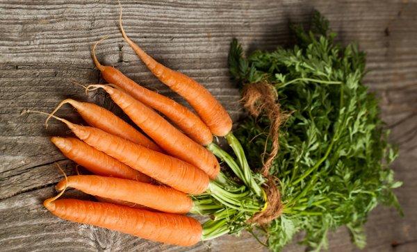 Женщина морковка