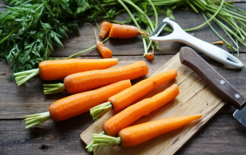 Минеральный состав моркови
