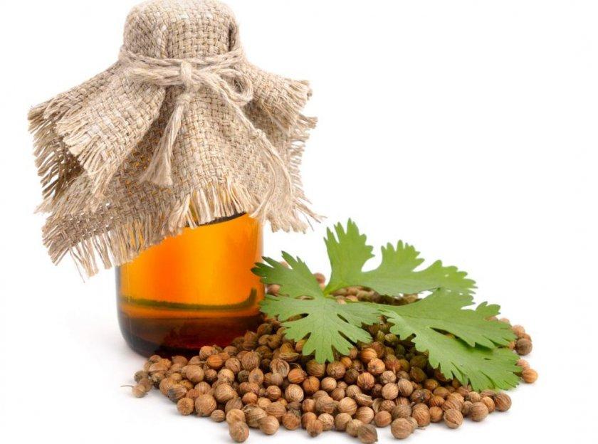 Эфирное масло из кориандра