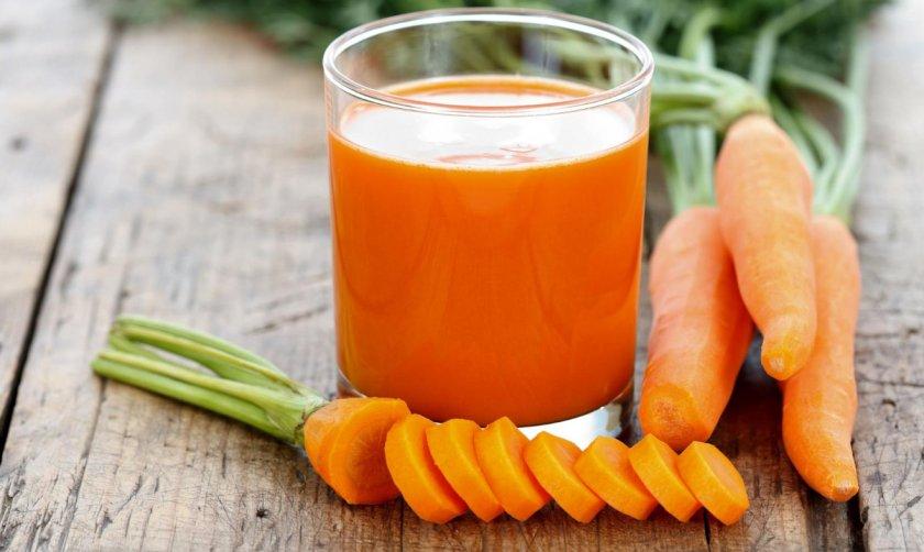 Морковный сок при онкологии