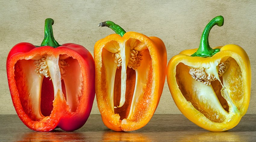 Плоды болгарского перца
