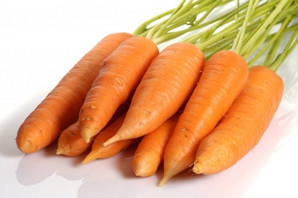 Сырая морковь при грудном