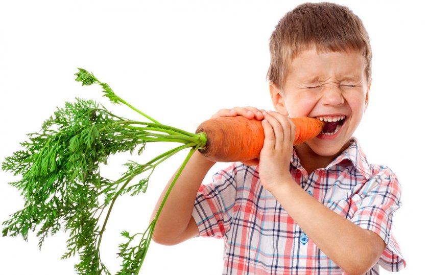 Свойства моркови для детей