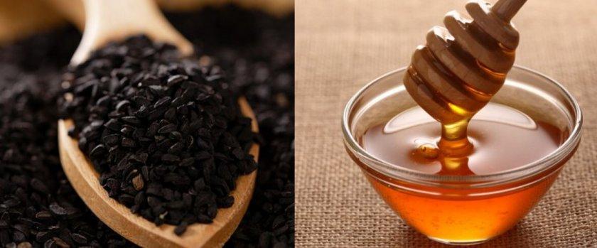 Чёрный тмин и мёд